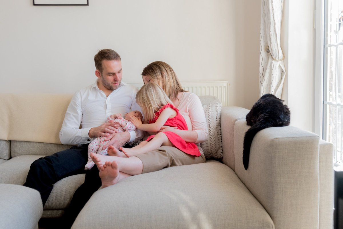Photo shoot at home in Surbiton with Clare Murthy Photography