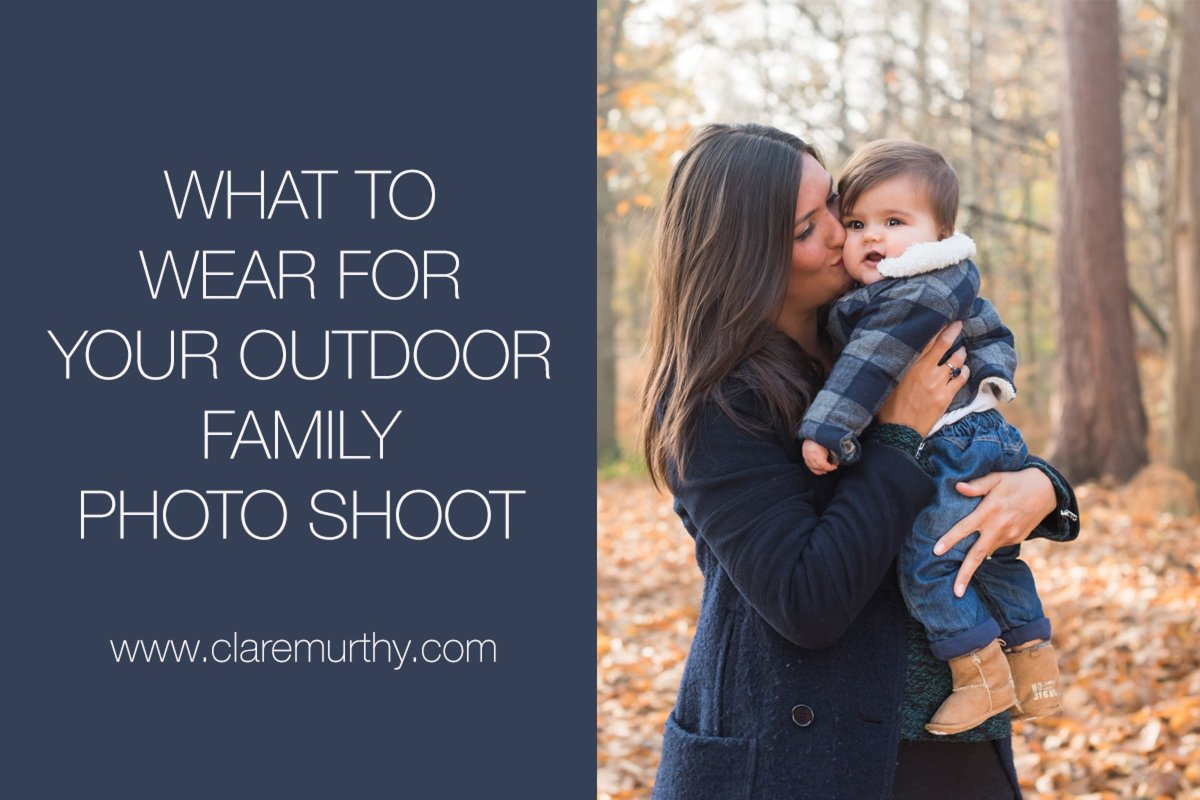 What to Wear For Outdoor Family Photography