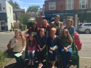 Short Story Competition entrants at ArtBeat 2015