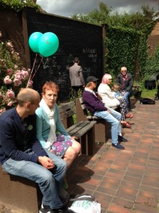Chalk and Talk at Clarendon Park Community Gardens
