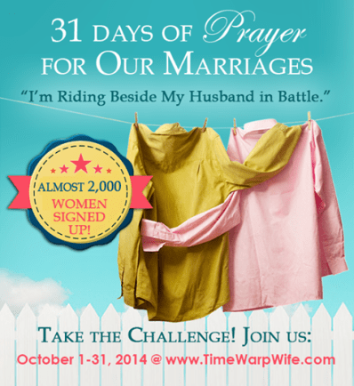 31 Days of Prayer: Marriage Challenge | Time Warp Wife