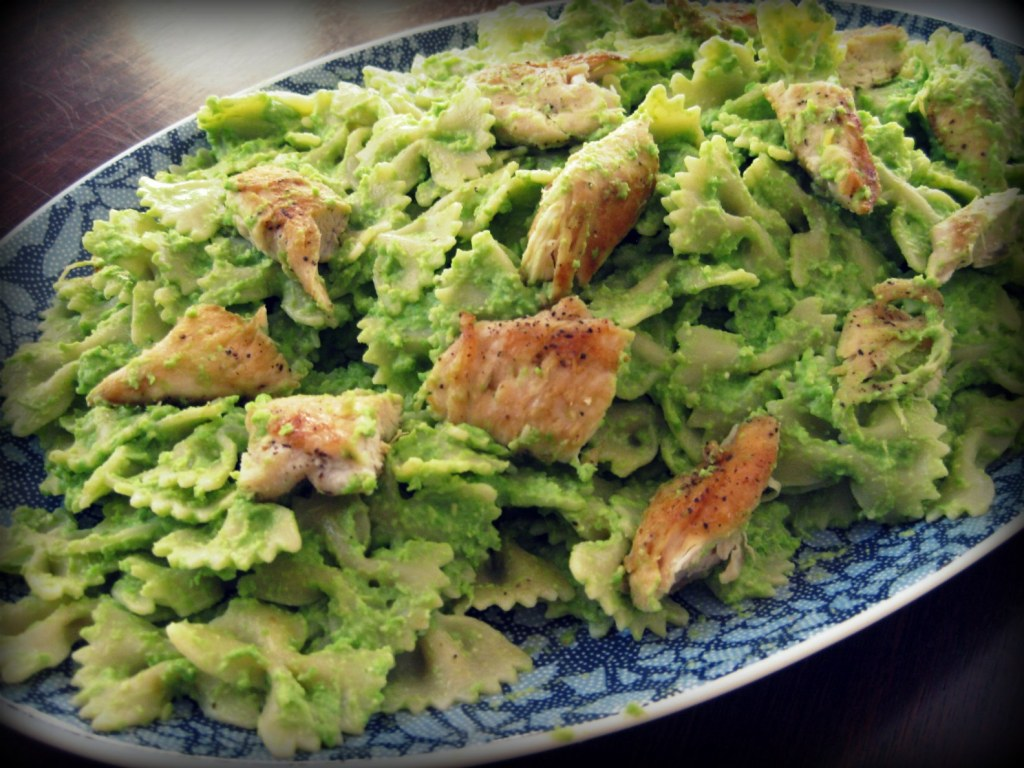 Recipe: Pasta with Pea Pesto (DD Fridays)