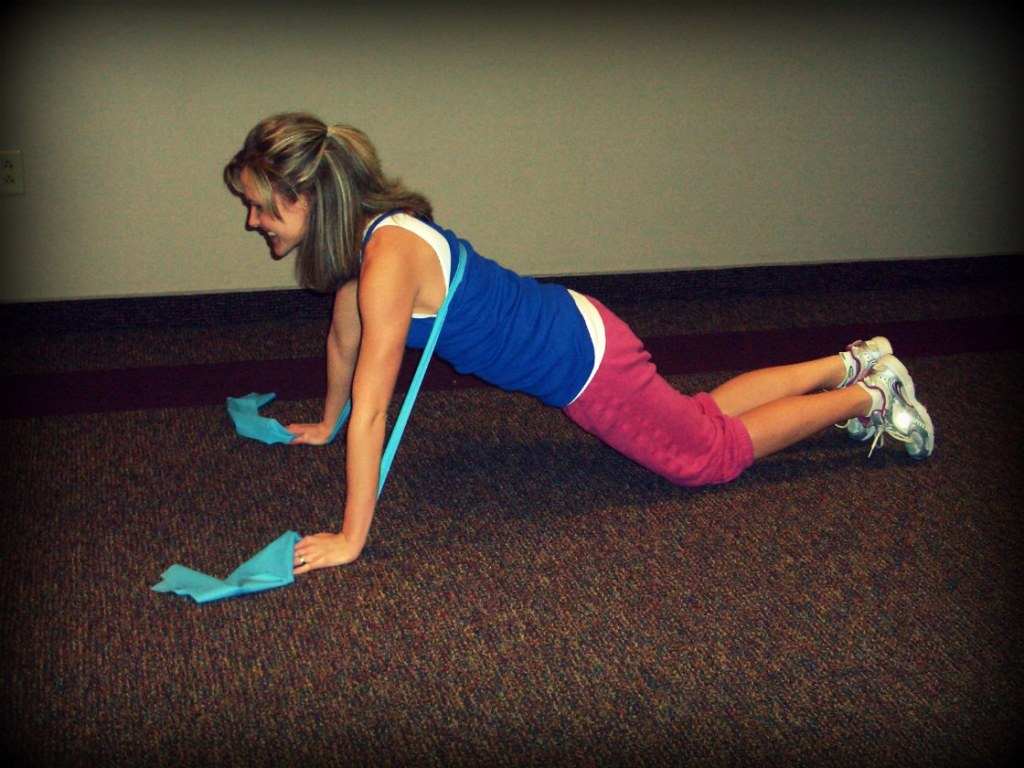 New Move Monday: Push-Up with a Band