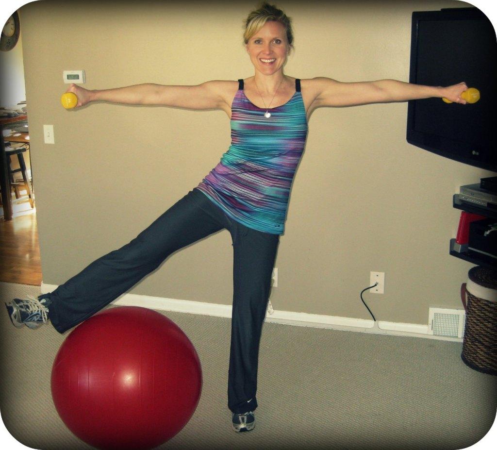 New Move Monday: Standing Leg Circles