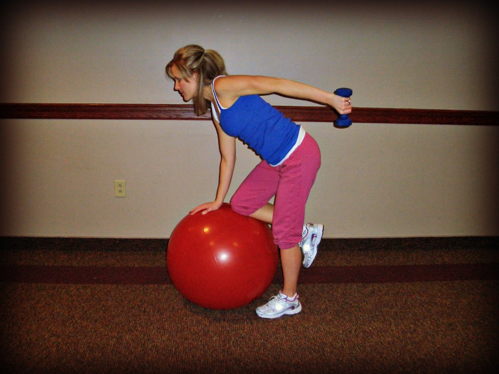 New Move Monday: Tricep Kickback on Ball