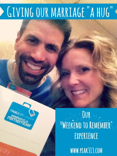 """Giving our marriage """"a hug"""": Our """"Weekend To Remember"""" experience"""