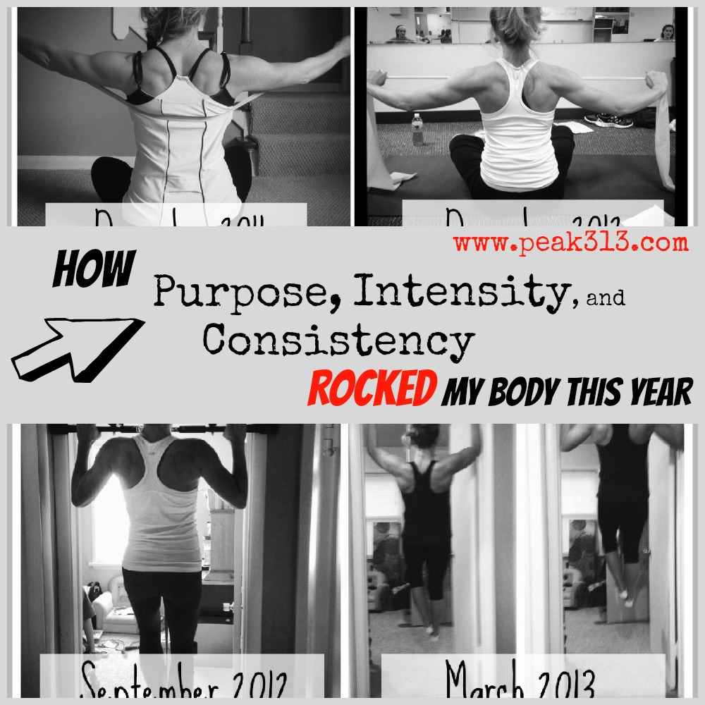 How Purpose, Intensity and Consistency Rocked My Body This Year