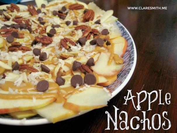 Apple Nachos: www.claresmith.me