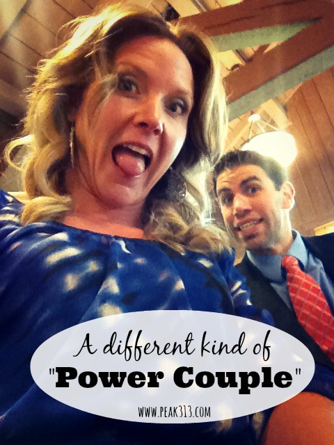 """A different kind of """"Power Couple"""""""
