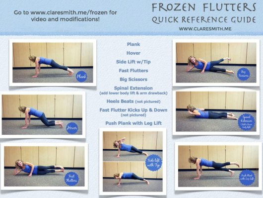 frozen flutters