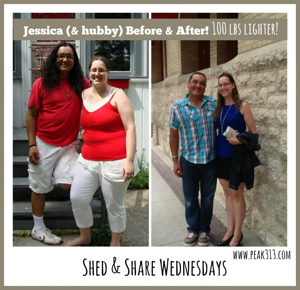 {Shed & Share Wednesdays} Jessica S.
