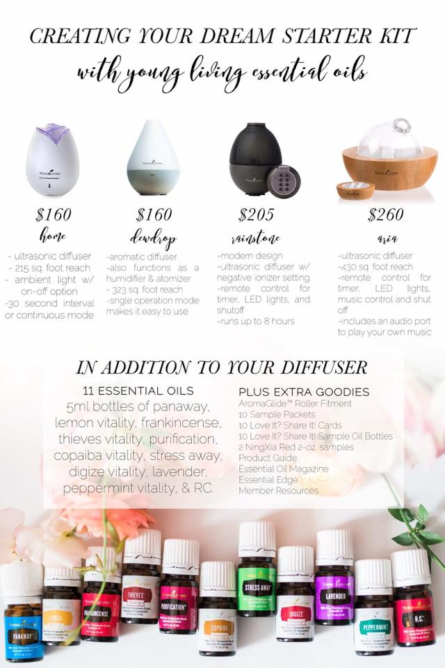 Young Living Starter Kit! : www.claresmith.me