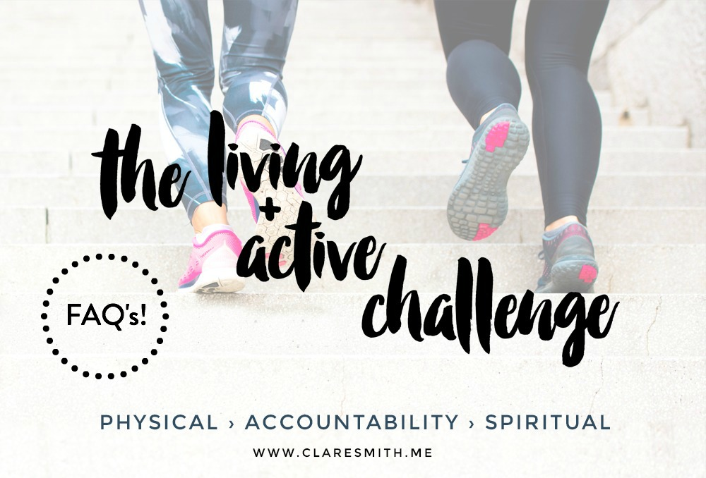 Living & Active FAQ's