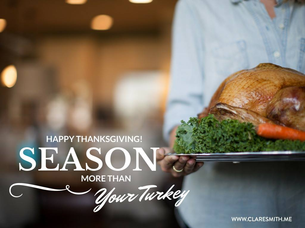 The Thanksgiving Table: What I want you to know about it