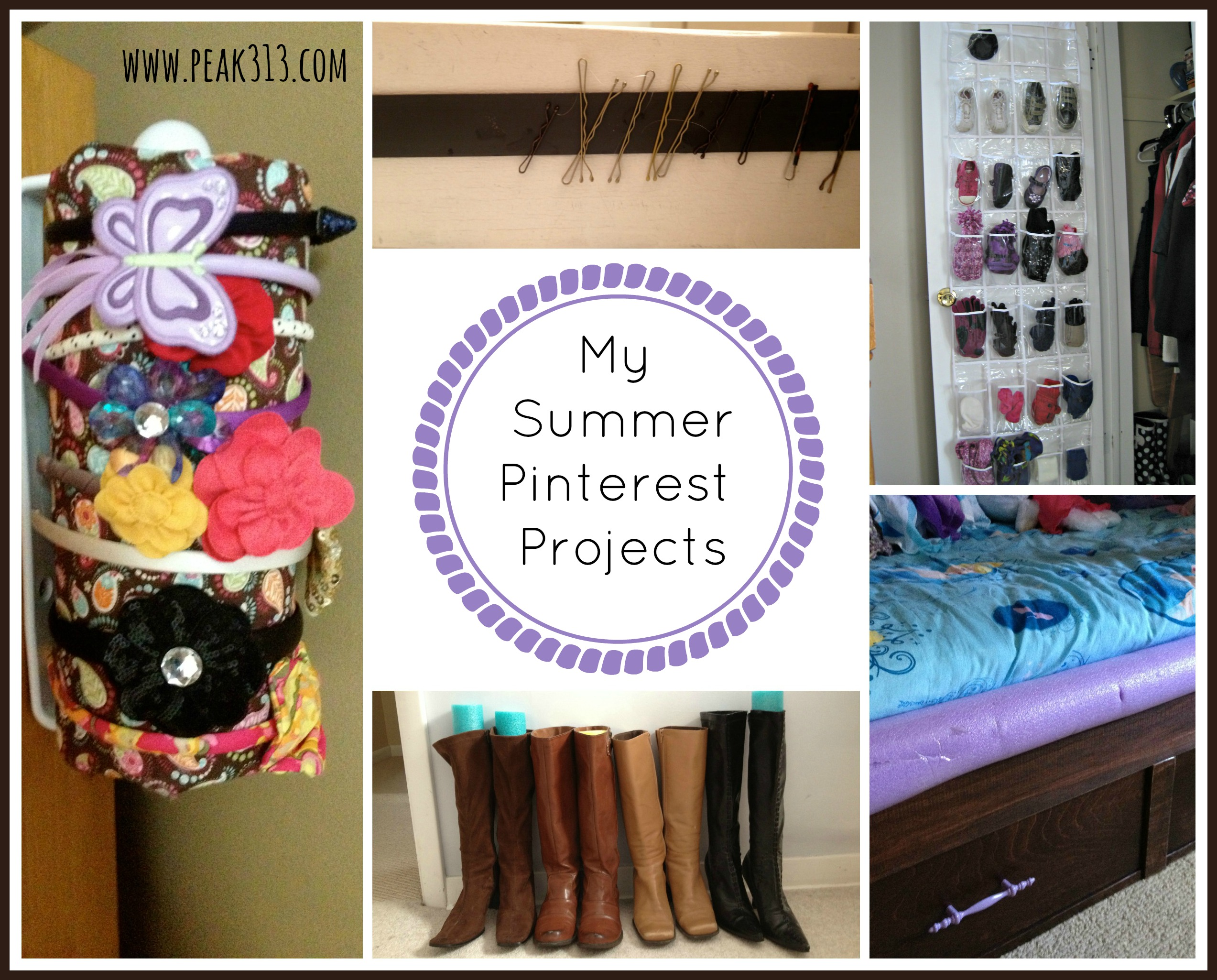My Summer Pinterest Projects