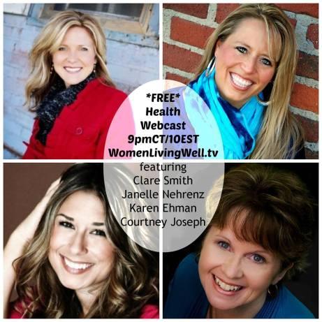 """Women Living Well"" Webcast : Health | peak313.com | womenlivingwell.tv"