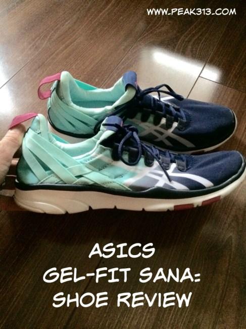 ASICS Gel-FIT Sana Shoe Review: Peak313.com