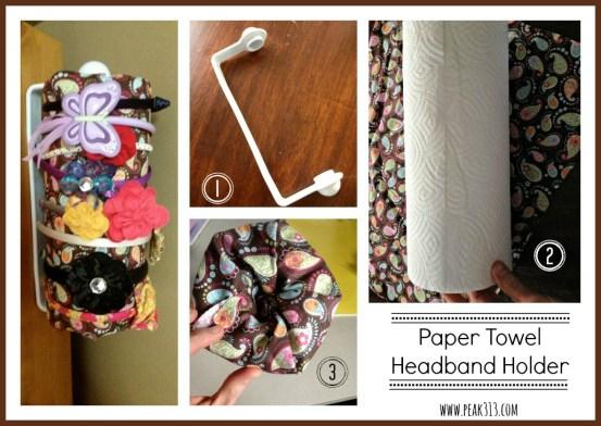 Paper Towel Headband Holder | peak313.com