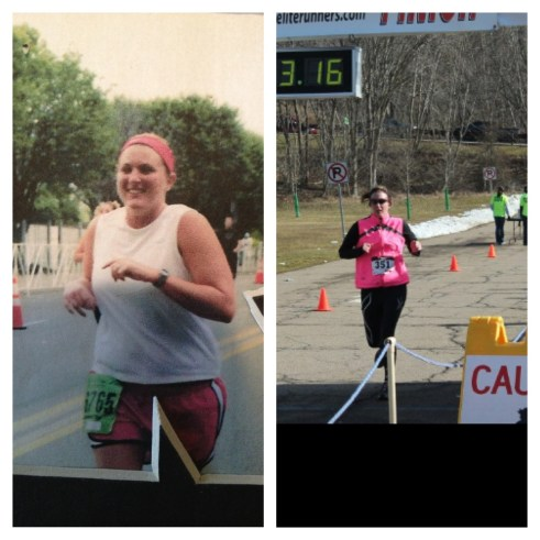 Shed & Share: Abby V (lost 110 lbs!) Before & After!   peak313.com