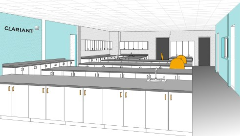 Clariant's new collaborative innovation center at Mount Holly West will focus on providing rapid s...