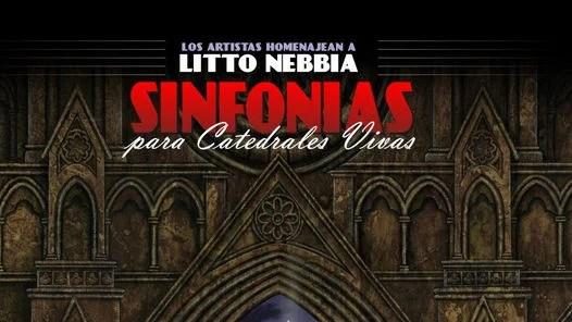 """Tapa del disco """"Sinfonía para catedrales vivas""""."""