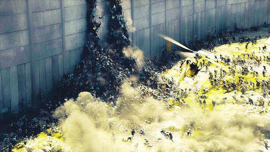 Uno arriba de otro¿Zombies, o gente huyendo desesperada? Una imagen impactante de la película./ UIP