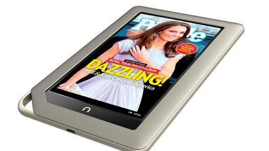 NOOK. Así es la nueva tableta de Barnes & Nobles.