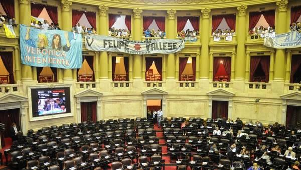 La Cámara de Diputados sesionará pese al pedido oposittor de suspender la agenda. (Diego Diaz)