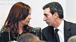 Juntos. La Presidenta y el ministro Randazzo, en un acto en julio pasado.