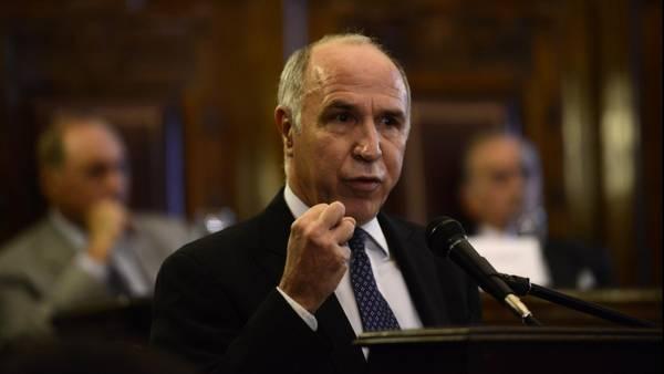 Jubilados. El titular de la Corte, Ricardo Lorenzetti, durante un encuentro del tribunal, que ayer benefició a un jubilado que había demandado a la ANSeS.