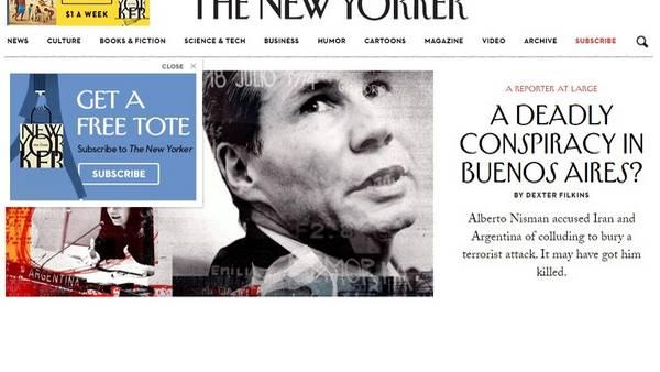 The New Yorker y su artículo sobre Nisman
