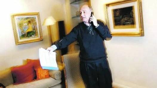 <b>preparativos.</b> <b>timerman asume hoy como  nuevo canciller de cristina kirchner, en reemplazo de TAIANA.