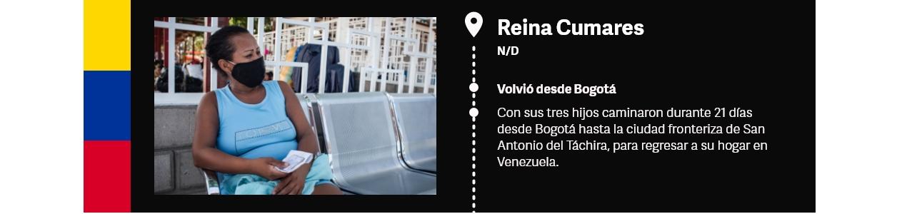 Venezuela ficha Reina Cumares