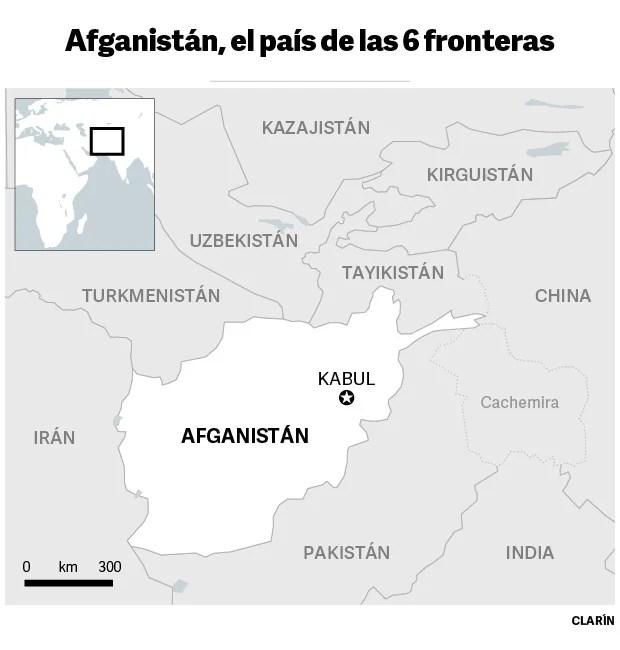 afghanistan borders region