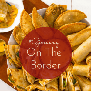On The Border And Super Bowl Sunday Make A Winning Team #Giveaway