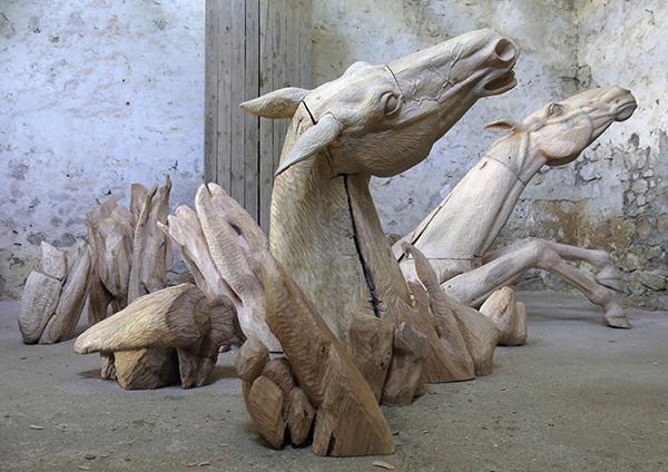 Les chevaux du lac Ladoga