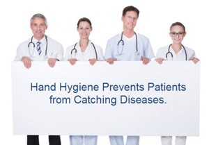 doctors holding poster