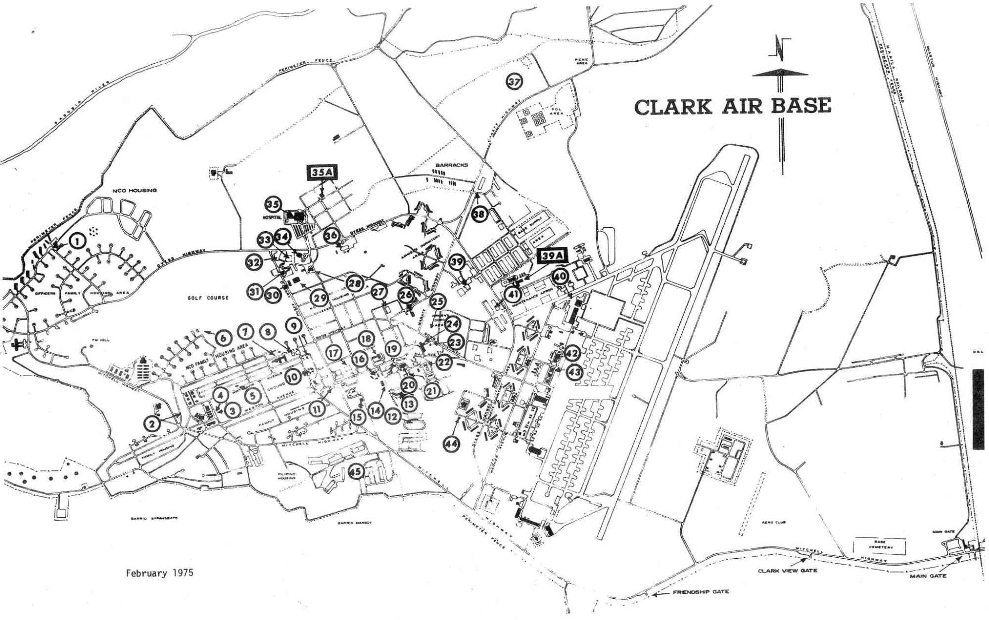 hight resolution of blueprints detailed charts overview chart showing clark air base