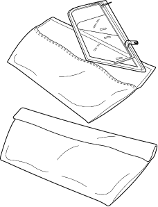 MGA Side Curtain POUCHES. Keep your plexiglass SAFE from