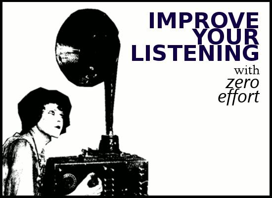 Improve your listening