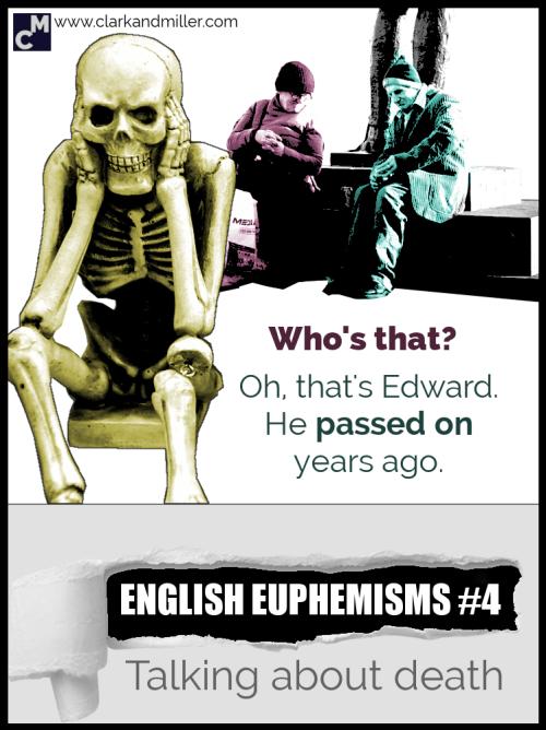 English Euphemisms for death