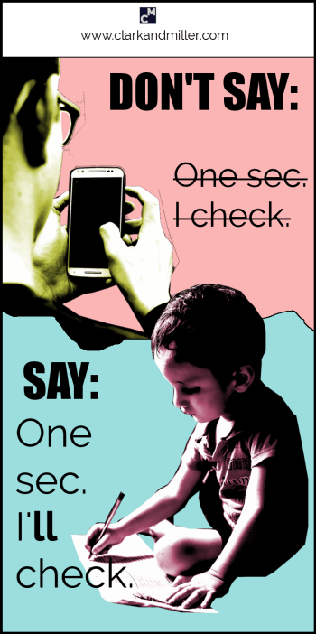 Classic English Mistakes #2: Don't say: I check. Say: I'll check.