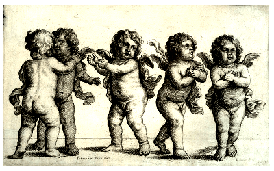 Group of cherubs