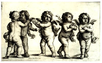 Group of cherubs