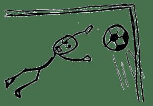 Football vocabulary: goalie / goal keeper