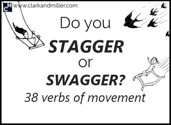 38 Verbs of Movement in English
