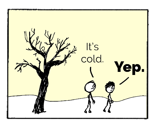 cold example comic