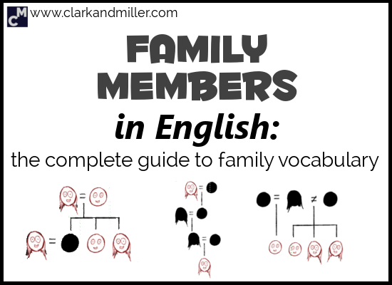 Family Members in English: The Complete Guide to Family Vocabulary