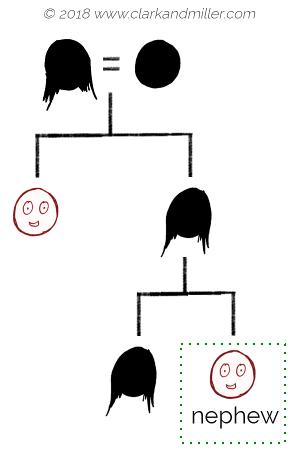 Family tree with nephew