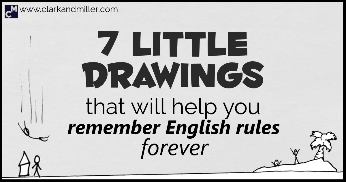 7 Little Drawings That Will Help You Remember English
